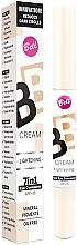 Fragrances, Perfumes, Cosmetics Light-Reflecting Concealer - Bell BB Cream Lightening 7in1 Eye Concealer