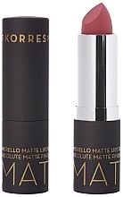 Fragrances, Perfumes, Cosmetics Matte Lipstick - Korres Morello Matte Lipstick