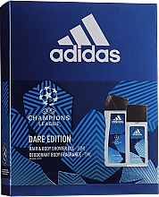 Fragrances, Perfumes, Cosmetics Adidas UEFA Dare Edition - Set (sh/gel/250ml + deo/75ml)