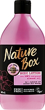 Fragrances, Perfumes, Cosmetics Moisturising Body Lotion - Nature Box Almond Oil
