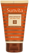 Fragrances, Perfumes, Cosmetics Face and Body Self-Tan Cream - BelKosmex Sunvita Cream