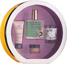 Fragrances, Perfumes, Cosmetics Set - Nuxe Culte Prodigieux Box (oil/100ml + h/cr/30ml + lip/balm/15ml + candle)