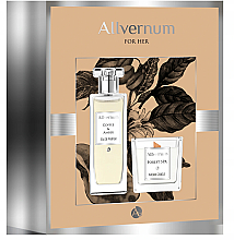 Fragrances, Perfumes, Cosmetics Allvernum Coffee & Amber - Set (edp/50ml + candle/100g)