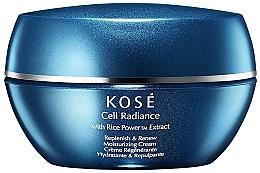Fragrances, Perfumes, Cosmetics Revitalising Moisturizing Cream - Kose Cell Radiance Cream Rice Power Extract