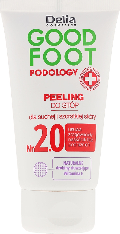 Foot Scrub - Delia Cosmetics Good Foot Podology Nr 2.0