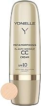 Fragrances, Perfumes, Cosmetics Anti-Wrinkle CC Cream SPF 10 - Yonelle Metamorphosis D3 Anti Wrinkle CC Cream SPF10