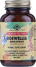 Fragrances, Perfumes, Cosmetics Herbal Supplement 'Boswellia Gum Extract' - Solgar Boswellia Resin Extract Herbal Supplement