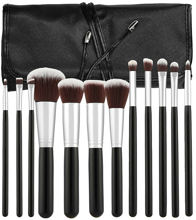 Professional Makeup Brush Set, 12 pcs - Tools For Beauty