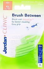 Fragrances, Perfumes, Cosmetics Interdental Brush , 0.8mm, XL, 10pcs - Jordan Interdental Brush Clinic Brush Between