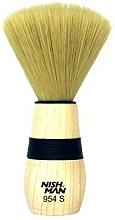 Fragrances, Perfumes, Cosmetics Neck Duster Brush, 954 S - Nishman