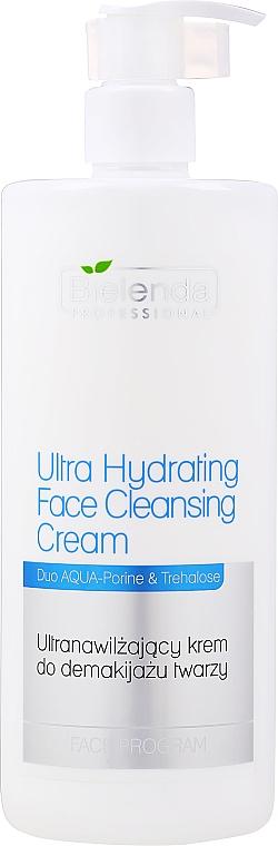 Ultra-Moisturizing Makeup Removal Cream - Bielenda Professional Program Face Ultra Hydrating Face Cleansing Cream