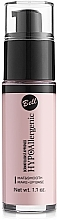 Fragrances, Perfumes, Cosmetics Makeup Base - Bell Hypo Allergenic Mat&Smooth Make-Up Base