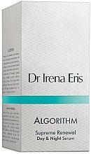 Fragrances, Perfumes, Cosmetics Intensive Repair Serum - Dr Irena Eris Algorithm Supreme renewal Advanced Serum
