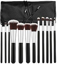 Fragrances, Perfumes, Cosmetics Professional Makeup Brush Set, 12 pcs - Tools For Beauty