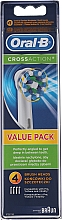 Fragrances, Perfumes, Cosmetics Spare Head for an Electric Toothbrush Cross Action EB50 - Oral-B