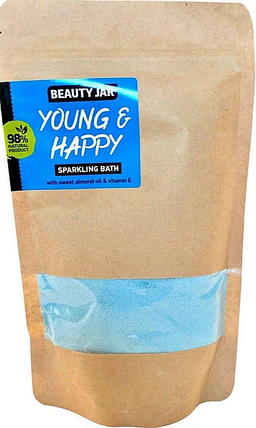 Sweet Almond & Vitamin E Sparkling Bath - Beauty Jar Young and Happy Sparkling Bath