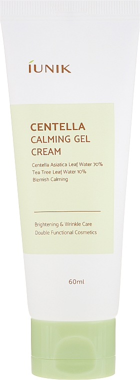 Soothing Cream Gel with Centella Asiatica - IUNIK Centella Calming Gel Cream