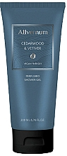 Fragrances, Perfumes, Cosmetics Allvernum Cedarwood & Vetiver - Perfumed Shower Gel