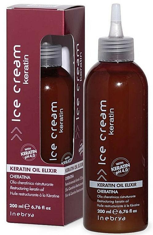 Elixir with Keratin - Inebrya Ice Cream Keratin Oil Elixir
