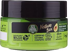 Fragrances, Perfumes, Cosmetics Intensive Hair Mask - Nature Box Avocado Oil Maska