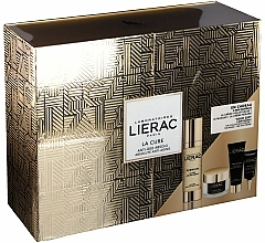 Fragrances, Perfumes, Cosmetics Set - Lierac Premium La Cure Anti-Age Absolute Kit (treatment/30ml+cr/15ml+mask/10ml+eye/cr/3ml)