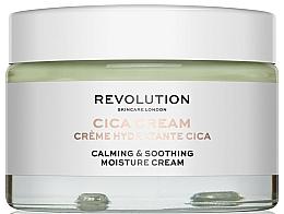 Fragrances, Perfumes, Cosmetics Moisturizing & Soothing Cream - Revolution Skincare Cica Calming & Soothing Moisture Cream