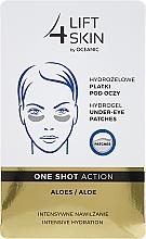 Fragrances, Perfumes, Cosmetics Eye Patches - AA Cosmetics Lift 4 Skin Hydrogel Under-Eye Patches Aloe