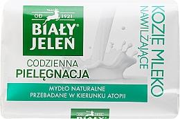 Fragrances, Perfumes, Cosmetics Hypoallergenic Soap with Goat Milk - Bialy Jelen Hypoallergenic Soap With Goat Milk