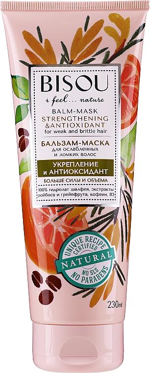 Strengthening & Antioxidant Hair Balm-Mask - Bisou Balm-Mask Strengthening & Antioxidant