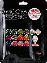 "Fragrances, Perfumes, Cosmetics Mask + Serum ""Silk Proteins Hand Regeneration"" - Beauty Face Mooya Bio Organic Treatment Mask + Serum"