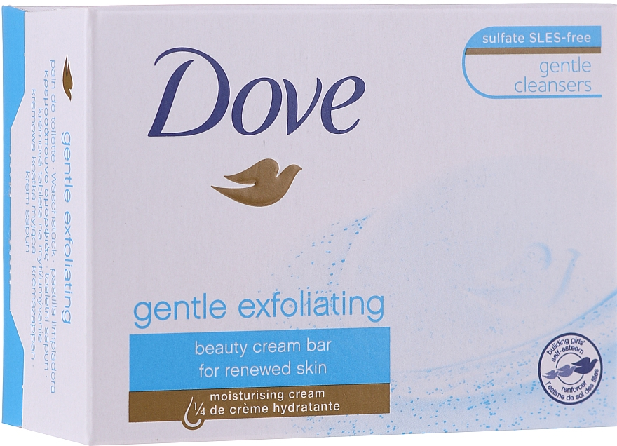 "Cream-Soap ""Gentle Exfoliation"" - Dove"