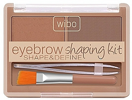 Fragrances, Perfumes, Cosmetics Brow Shaping Kit - Wibo Eyebrow Shaping Kit