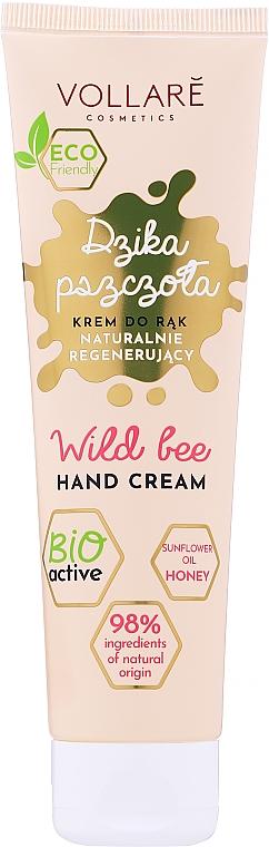 "Regenerating Hand Cream ""Wild Bee"" - Vollare"