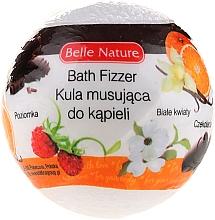 Fragrances, Perfumes, Cosmetics Bath Fizzer, white - Belle Nature
