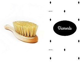 Fragrances, Perfumes, Cosmetics Set - LullaLove Romby (hair brush + muslin)
