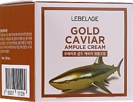 Fragrances, Perfumes, Cosmetics Rejuvenating Gold & Caviar Cream - Lebelage Ampoule Cream Gold Caviar
