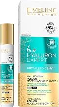 Fragrances, Perfumes, Cosmetics Eye Roll-On Corrector - Eveline Cosmetics Bio Hyaluron Expert Hyaluronic Roll-on Modelling Eye Contour