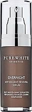 Fragrances, Perfumes, Cosmetics Night Face Serum - Pure White Cosmetics Overnight Antioxidant Renewal Serum