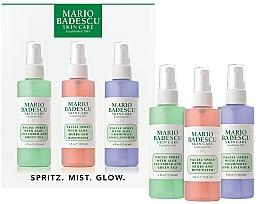 Fragrances, Perfumes, Cosmetics Set - Mario Badescu Combo Dry Regimen Kit (spray/3x118ml)