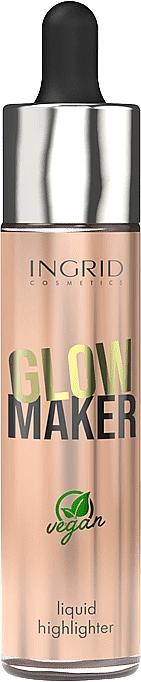Liquid Highlighter - Ingrid Cosmetics Glow Maker Bali Vegan Highlighter