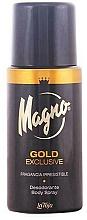 Fragrances, Perfumes, Cosmetics Deodorant - La Toja Magno Gold Exclusive Body Spray