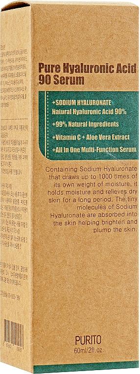 Intensive Moisturizing 90% Hyaluronic Acid Serum - Purito Pure Hyaluronic Acid 90 Serum — photo N2