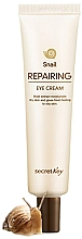 Fragrances, Perfumes, Cosmetics Repairing Snail Eye Cream - Secret Key Snail Repairing Eye Cream