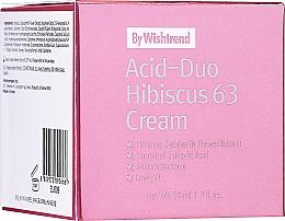 Fragrances, Perfumes, Cosmetics Acid & Hibiscus Face Cream - By Wishtrend Acid-Duo Hibiscus 63 Cream