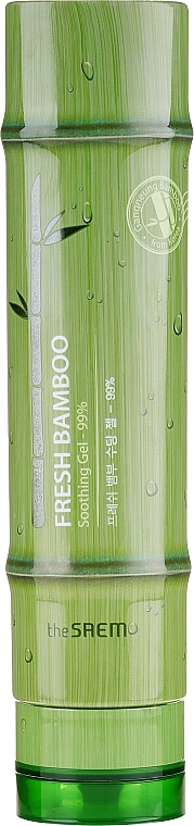 Soothing Body Gel with Bamboo Extract 99% - The Saem Fresh Bamboo Soothing Gel 99%