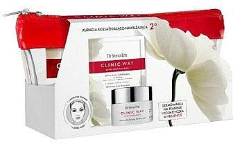 Set - Dr. Irena Eris Clinic Way 2° (cr/50ml + f/mask/1pcs + bag) — photo N1