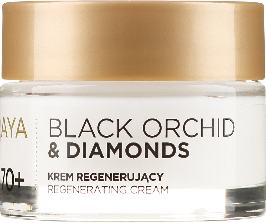 Regenerating Facial Cream - Soraya Black Orchid & Diamonds 70+ Regenerating Cream — photo N2
