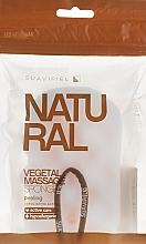 Fragrances, Perfumes, Cosmetics Massage Sponge, cellulose-polyurethane - Suavipiel Natural Vegetal Massage Sponge