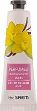 "Fragrances, Perfumes, Cosmetics Perfumed Hand Cream ""Vanilla"" - The Saem Perfumed Vanilla Hand Moisturizer"