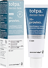 Fragrances, Perfumes, Cosmetics Moisturizing Face Day Cream - Tolpa Provivo 35+ Moisturising Anti-Age Cream
